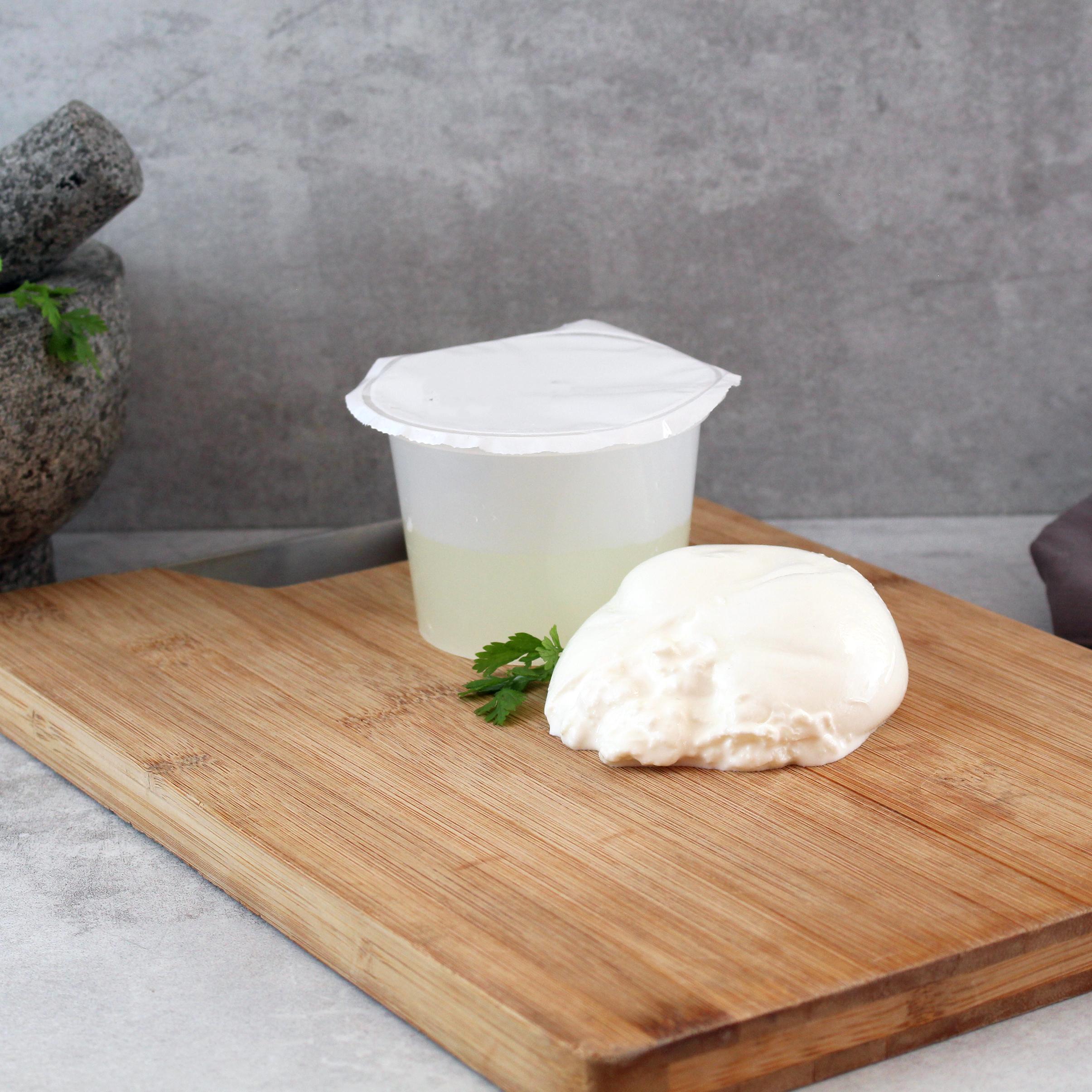 Mozzarella Burrata di Bufala, cremig-weich, 44% Fett, 125g