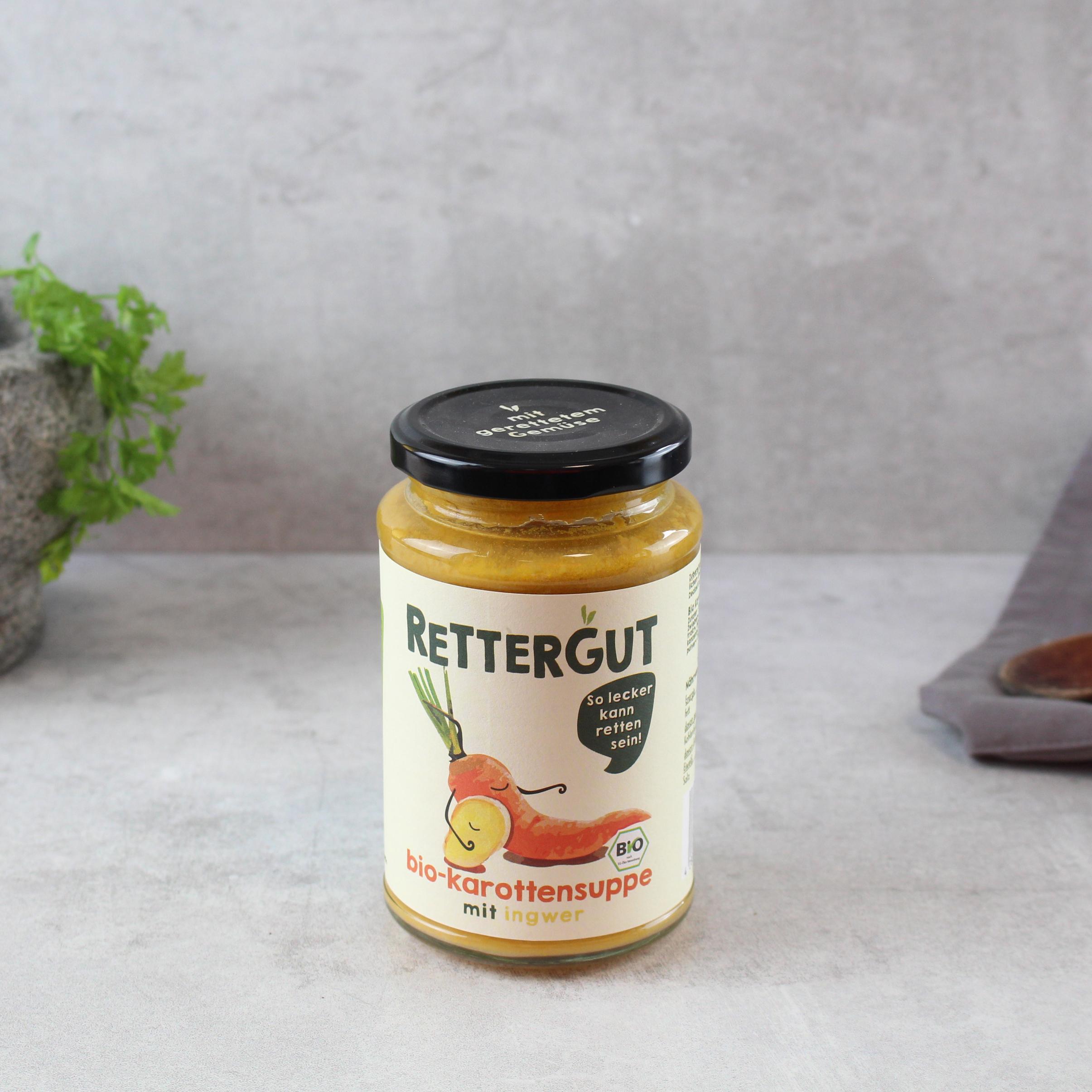 Karottensuppe mit Ingwer Dörrwerk BIO