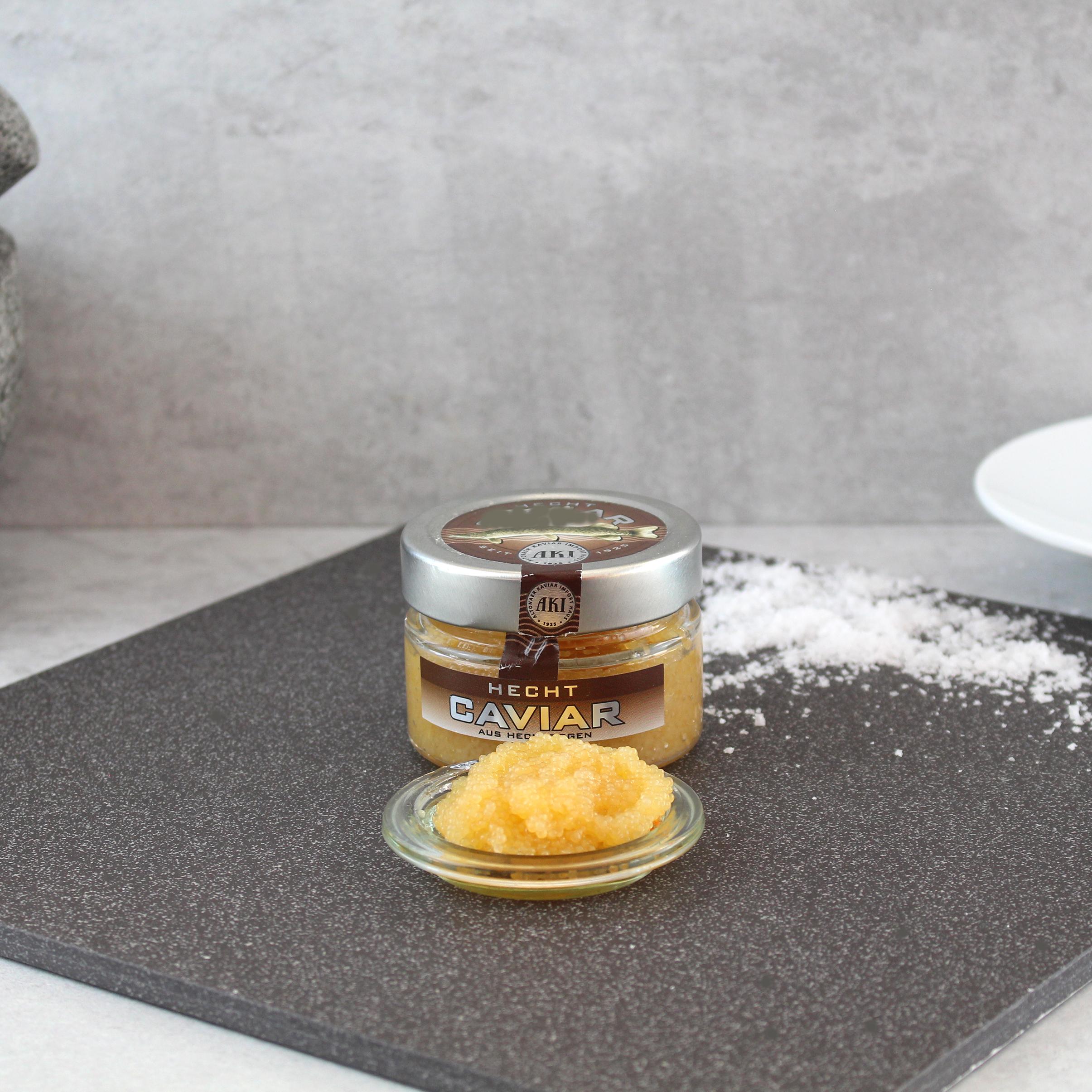 Hecht Kaviar, 100g  Glas