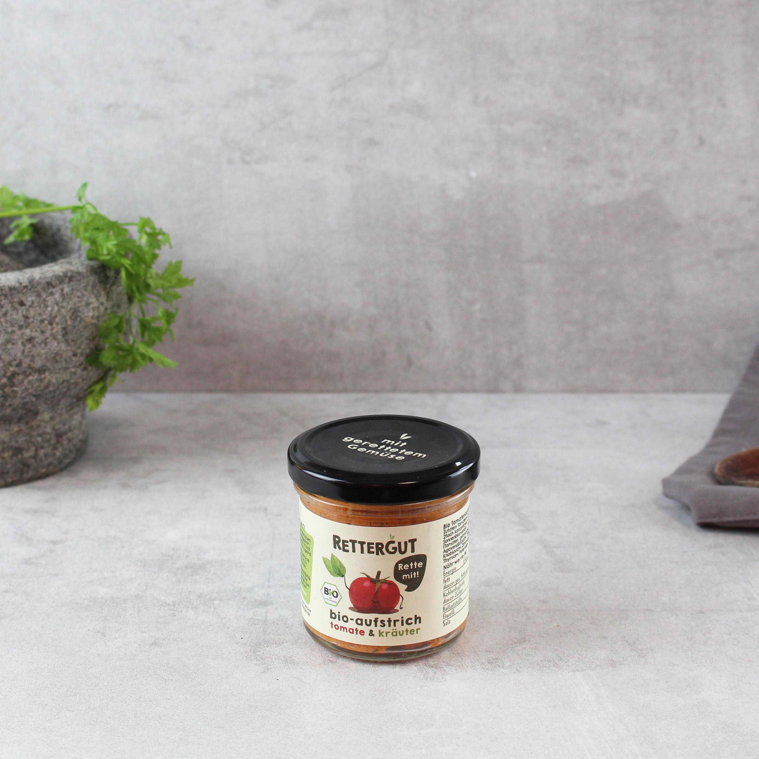 Aufstrich Tomate Kräuter BIO Rettergut
